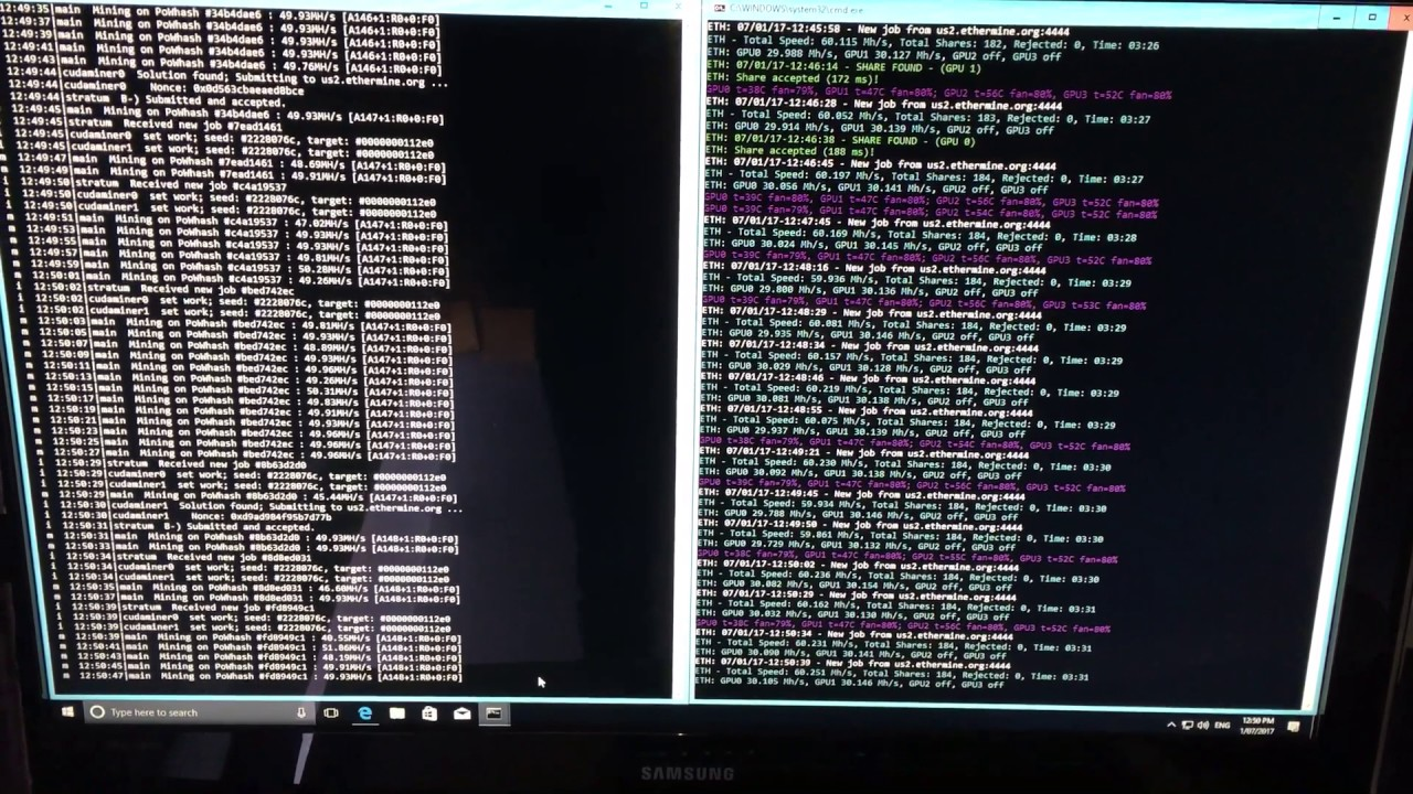 New Optimized Ethminer for Nvidia GeForce GTX 1060