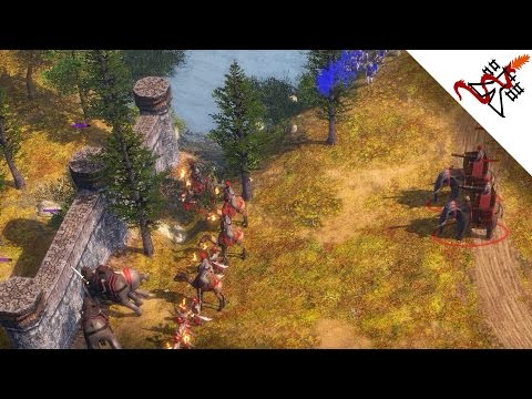 Age of Empires 3 - 3vs3 BACKDOOR TACTICS | Multiplayer Gameplay