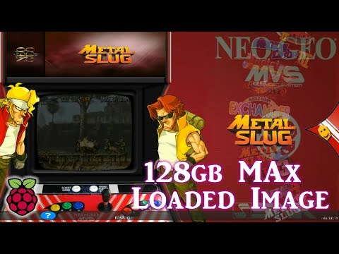 128gb Pi 3 B and B+ MAX Image Vman - 8,080+ Games PSX Dreamcast N64 SNES - 동영상