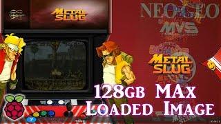 128gb Pi 3 B and B+ MAX Image Vman - 8,080+ Games PSX Dreamcast N64 SNES