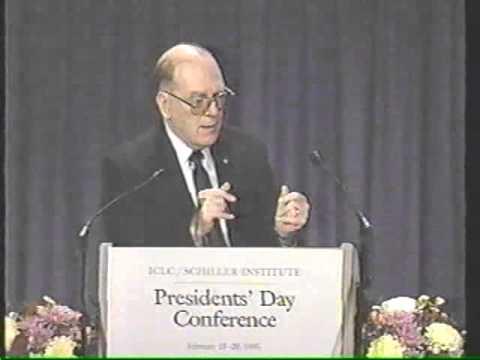 Reason Versus Revolution Keynote Speech by Lyndon LaRouche