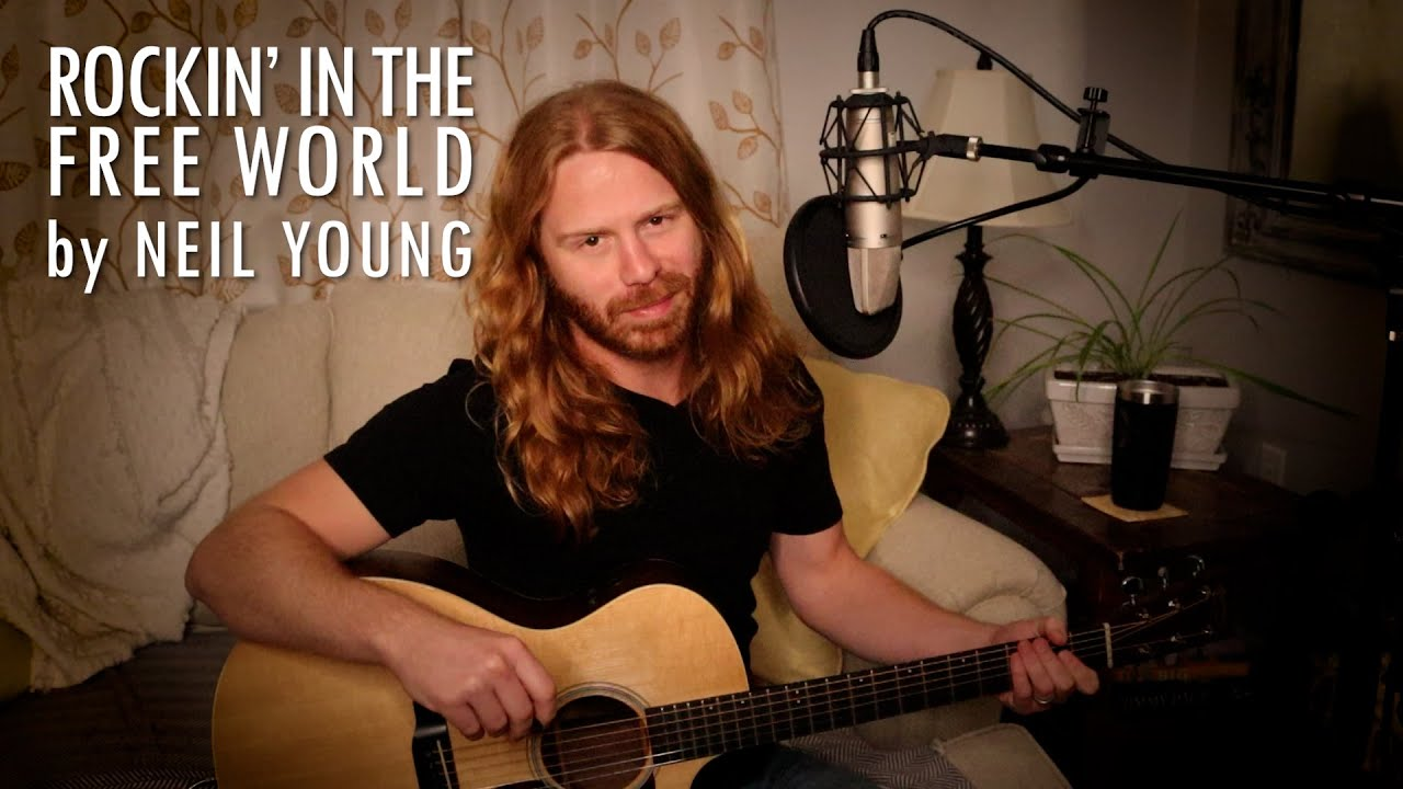 """Rockin' in the Free World"" by Neil Young - Adam Pearce (Acoustic Cover)"