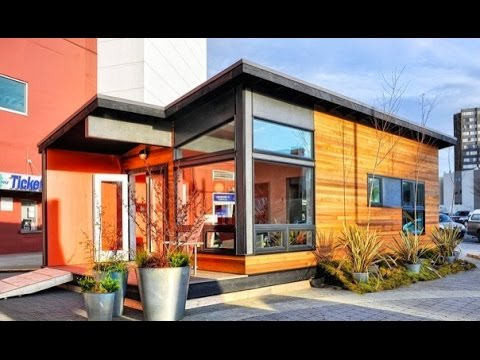 400 Sq Ft 400 sq. ft. modern prefab cabin - youtube