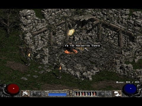 Diablo II: Forgotten Tower, Countess, 04 (Hell Difficulty, Barbarian 68 Lvl) Blizzard Entertainment