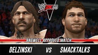 wwe 2k14 delzinski vs smacktalks tlc online match