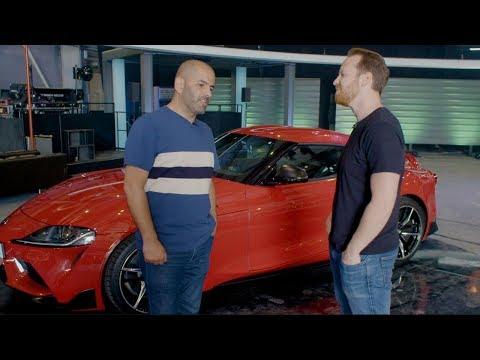 Chris Harris vs the Toyota Supra | Top Gear