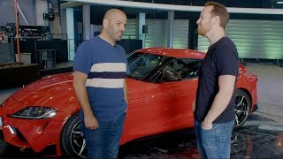 Chris Harris vs the Toyota Supra | Top Gear