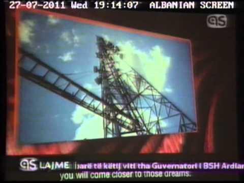 Albtelecom dhe Telecom Italia Sparkle-Albanian Screen