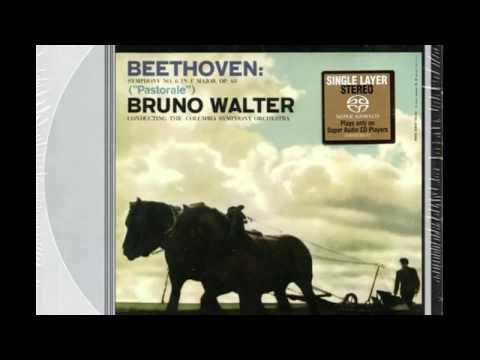 "Beethoven Symphony No. 6 ""Pastorale"" / Bruno Walter  (SACD SS 6012) 1958/1999"
