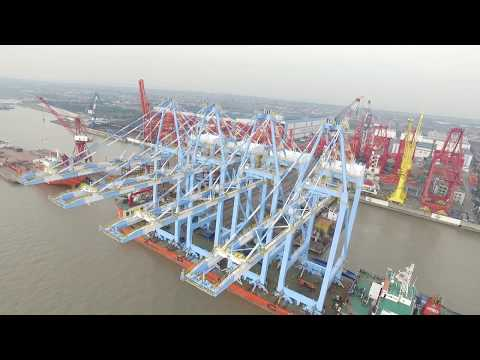 More about our new, larger container cranes