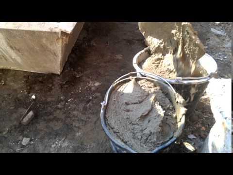 цементный раствор с фейри