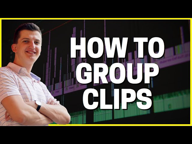 How To GROUP CLIPS in Premiere Pro!