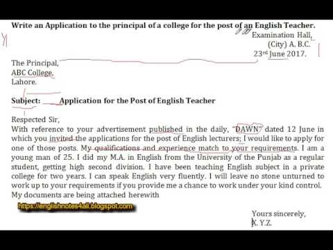 BA English How to write multi job applicationlecture by Shahid Bhatti  YouTube