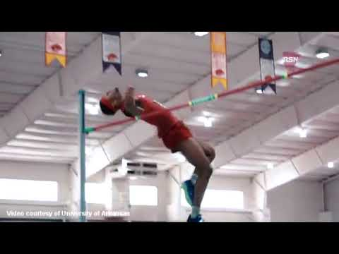 Perinchief Breaks Bermuda Indoor Record, Feb 2018