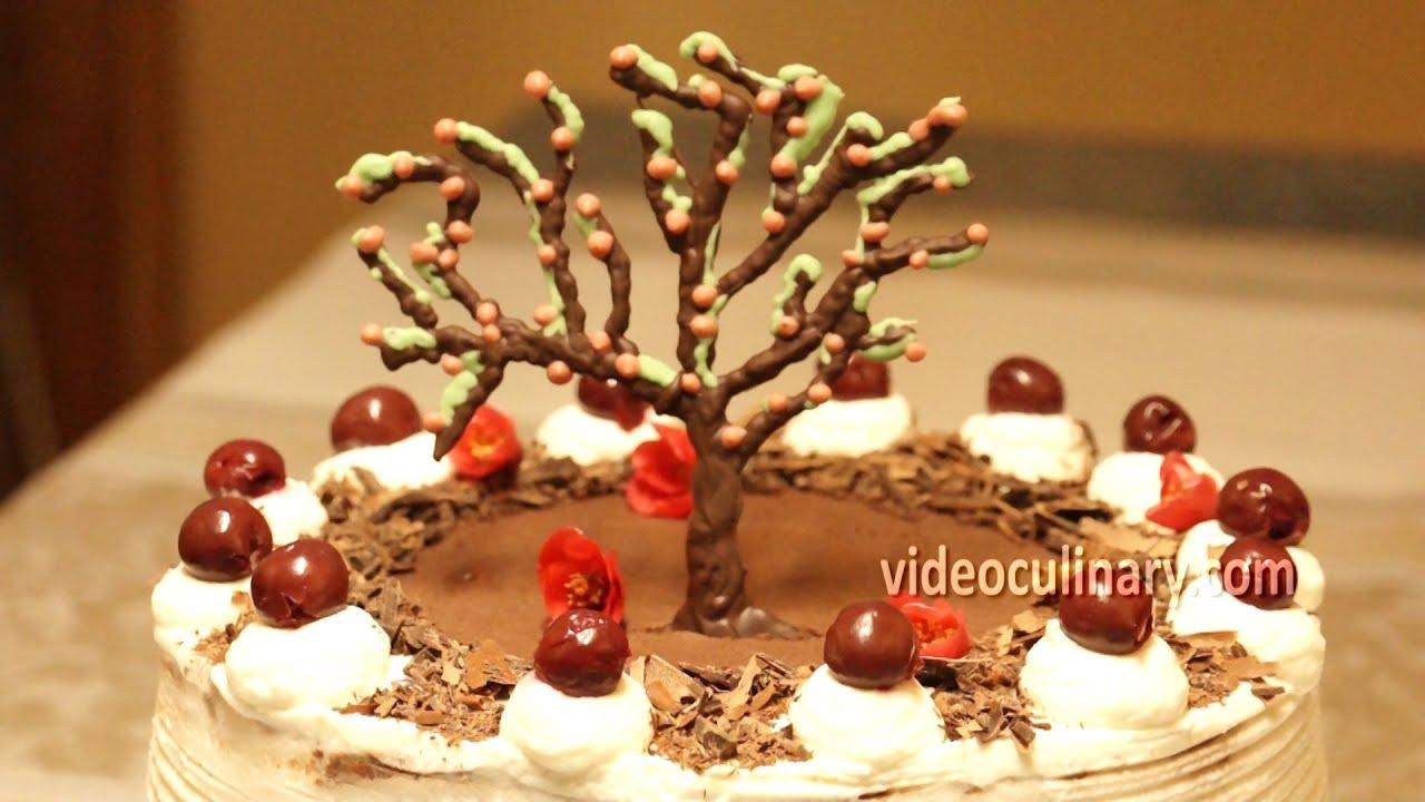 Black Forest Cake Recipes In Marathi: How To Make Black Forest Cake
