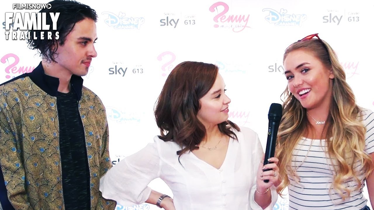 PENNY ON MARS | Exclusive and Fun Interview with the Cast - Disney Channel  Series
