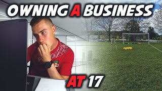 Owning a Business At 17!?! | Day In The Life Of A Business Owner