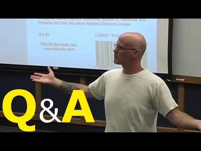 Gary Yourofsky's Speech: Q&A Session Travel Video