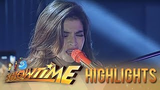"It's Showtime: Anne Curtis belts out ""Chandelier"""