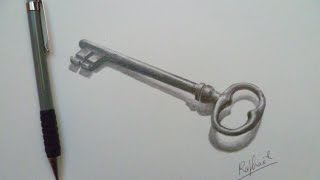 Drawing a key / Speed drawing