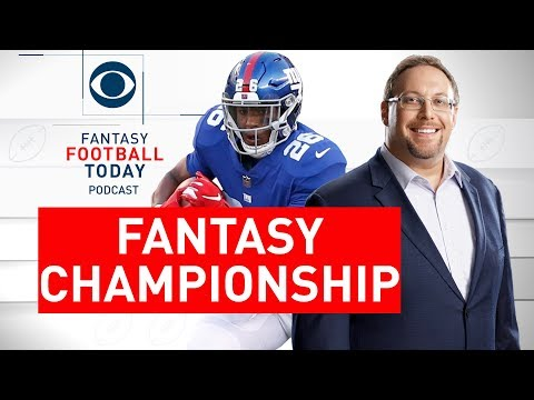 Fantasy Championship Winners, Week 17 Waiver Wire | Fantasy Football Today