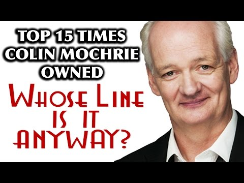 "Top 15 Times Colin Mochrie Owned ""Whose Line Is It Anyway?"""
