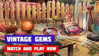 Vintage Gems · Game · Gameplay