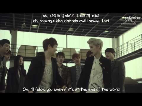 EXO - Wolf (korean drama ver.) MV [English subs + Romanization + Hangul] HD