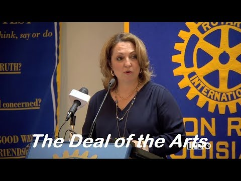 The Deal of the Arts: Baton Rouge's Creative Community | Renee Chatelain | Newsmakers | 04/04/18