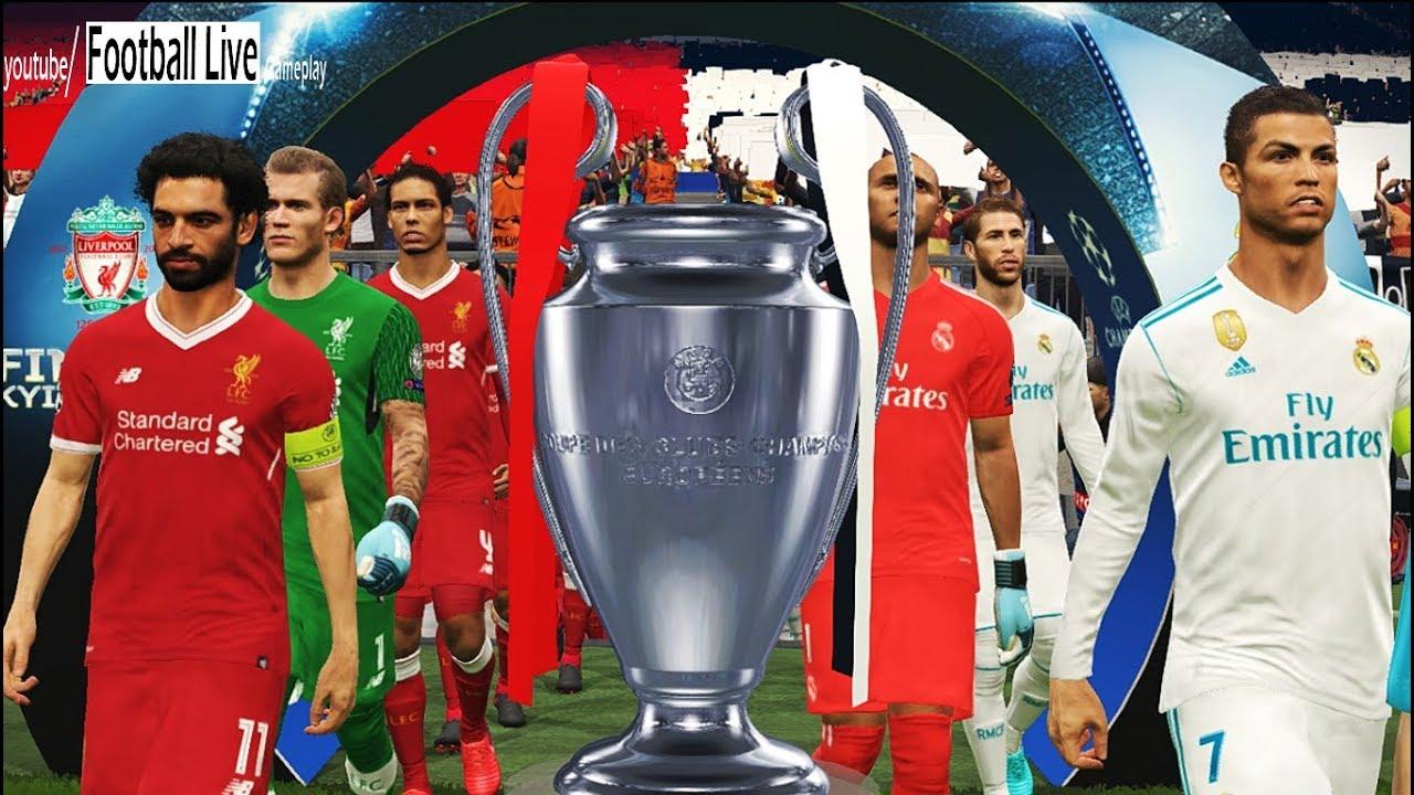 PES 2018 | Final UEFA Champions League | Real Madrid vs Liverpool FC