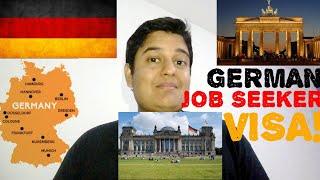 German Job Seeker Visa!!! EXPLAINED! 6 Month Visa Just For Searching A Job In Germany!!!