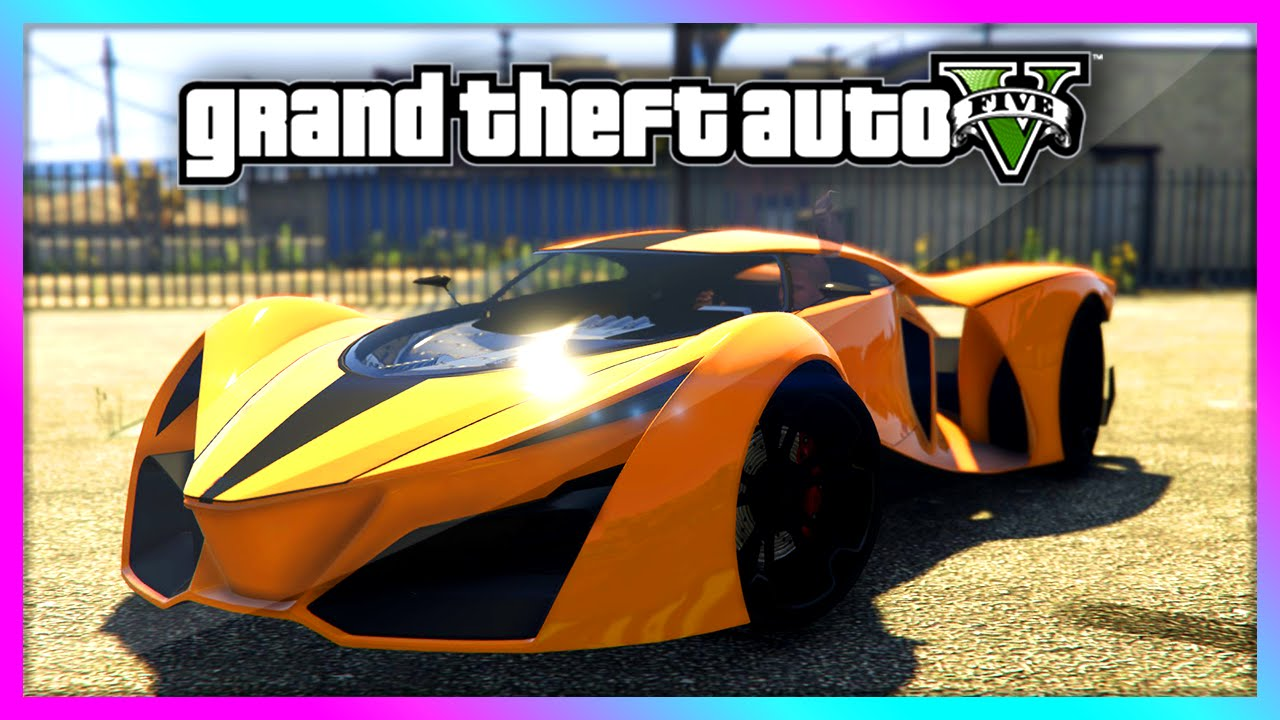 Gta New Secret Unreleased Cars Gameplay New Supercars