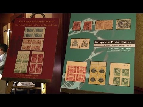 Rare Chinese Stamps, Letters To Be Auctioned In Hong Kong