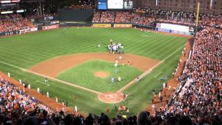 Baltimore Orioles clinch the AL EAST 9/16/14