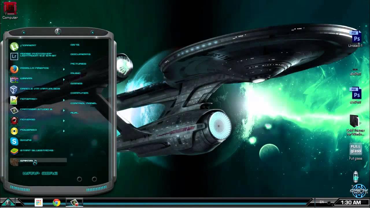 Star Trek Windows 7 Theme
