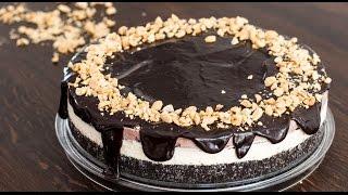 Chocolate Peanut Butter Ice Cream Cake Recipe