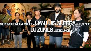 MERENGUE MEGA MIX FT JUAN LUIS GUERRA & FRIENDS-DJ ZUNILS JUZ BOUNCE CD