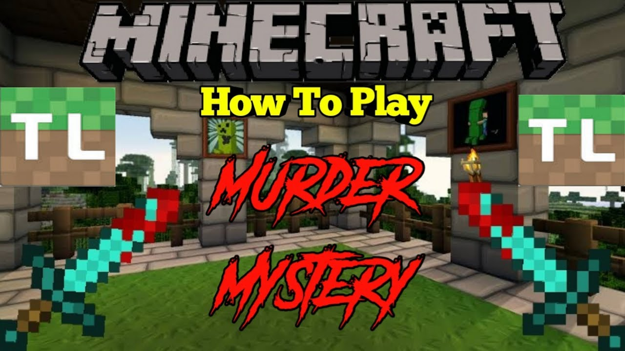 TUTORIAL!! How To Play Murder Mystery In Minecraft (tlauncher)