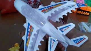 Trò chơi khui hộp máy bay điều khiển❤️binbin tv❤️ đồ chơi