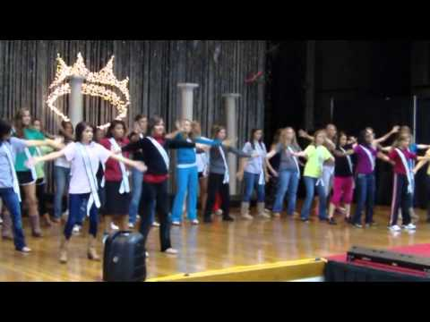 2012 Miss Magnolia State Pageant rehearsal and final clips video.mpg