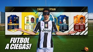 FUT DRAFT SIN MIRAR CHALLENGE!!! FOOTBALL vs FIFA 17