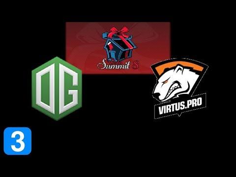 OG vs VP Game 3 Dota Summit 8 Highlights Dota 2