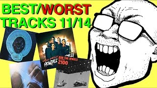 BEST & WORST TRACKS: 11/14 (Childish Gambino, Run the Jewels, The xx, Okilly Dokilly)