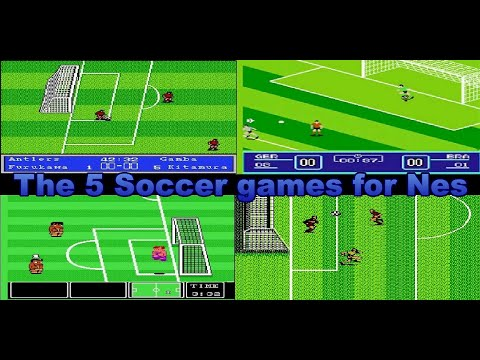 The 5 Soccer games for Nes