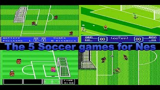 Top 5 Soccer games for Nes