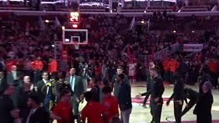 【NBA 2017.12.29 INDvsCHI③】ペイサーズVSブルズ ペイサーズの選手紹介/Pacers VS Bulls Player Intro@United Center