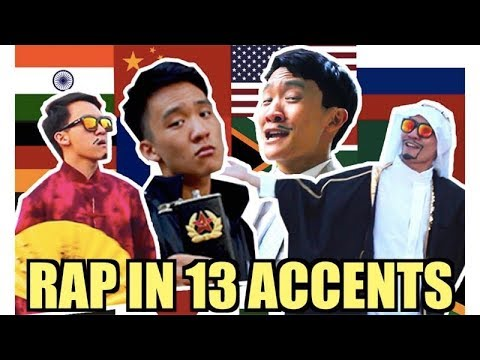 Rap Song in 13 Different Accents