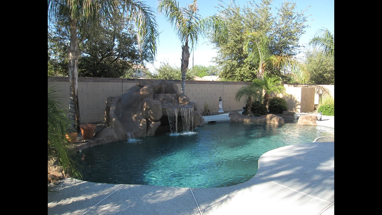 Home In Surprise Arizona Pool Waterfall Spa Amp Grotto