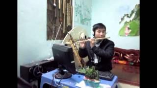 Gợi nhớ quê hương - sáo trúc Cao Trí Minh