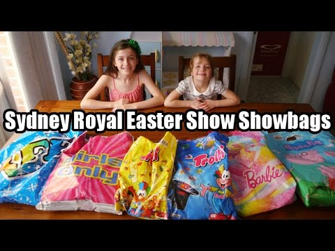 Opening Sydney Royal Easter Show Showbags Youtube